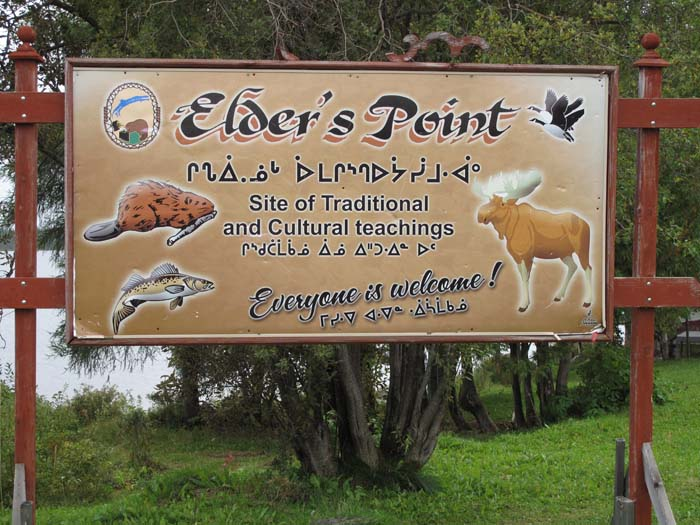 Elder's point, where I will be definitely heading to learn some traditional teachings.
